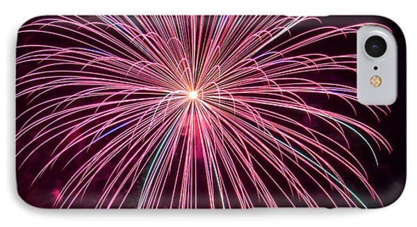 4th Of July Fireworks 24 Phone Case by Howard Tenke