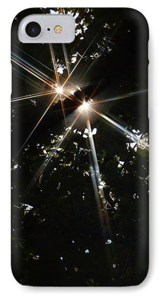 Bursting Through Trees Phone Case by Donna Blackhall
