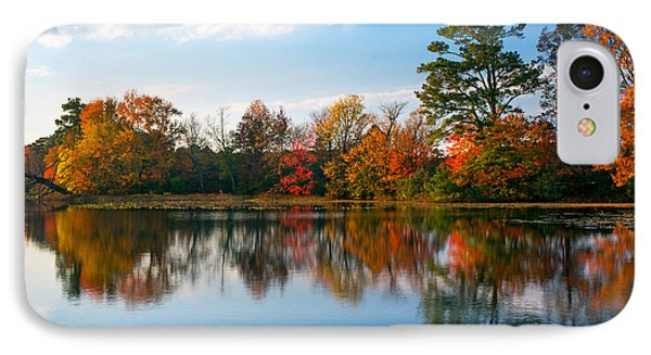 IPhone Case featuring the photograph Burton Pond Sunset by Robert Pilkington