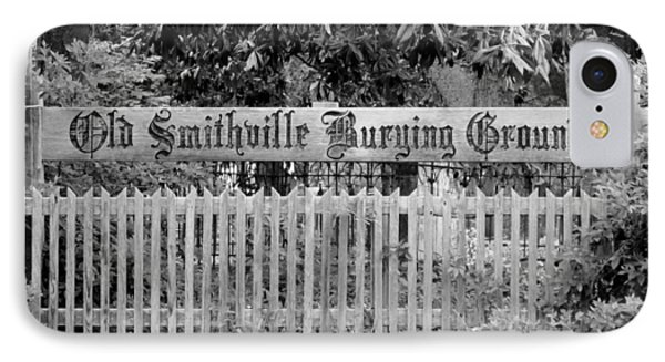 Burying Ground Phone Case by Cynthia Guinn