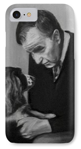 Bush And Millie IPhone Case by Martha Suhocke