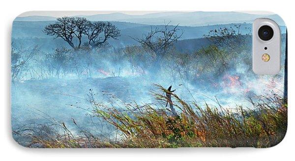 Bush Fire IPhone Case