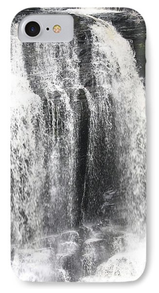 Bushkill Waterfalls Phone Case by John Telfer