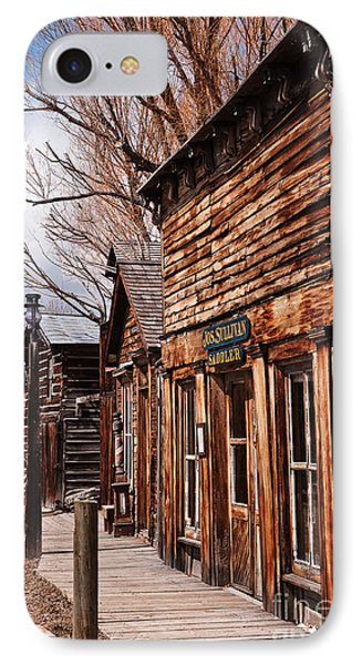 IPhone Case featuring the photograph Business Block by Sue Smith
