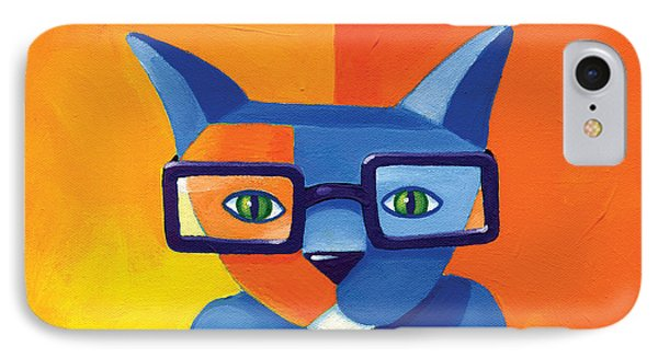 Business Cat IPhone 7 Case by Mike Lawrence