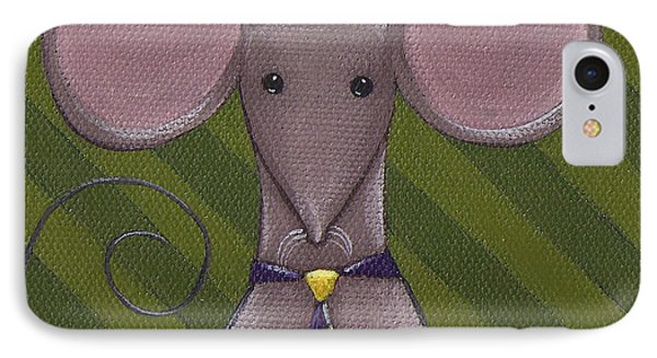 Business Mouse Phone Case by Christy Beckwith