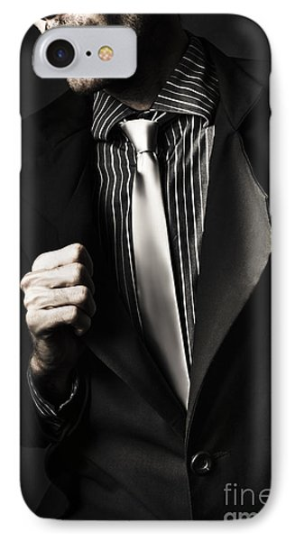 Business Spy In Opulent Modern Suit IPhone Case