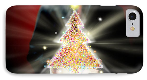 Businessman With Christmas Phone Case by Atiketta Sangasaeng