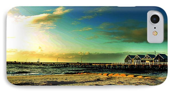 Busselton Jetty IPhone Case by Yew Kwang