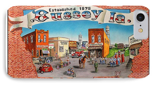 Bussey Mural Phone Case by Todd Spaur
