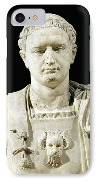 Bust Of Emperor Domitian IPhone Case