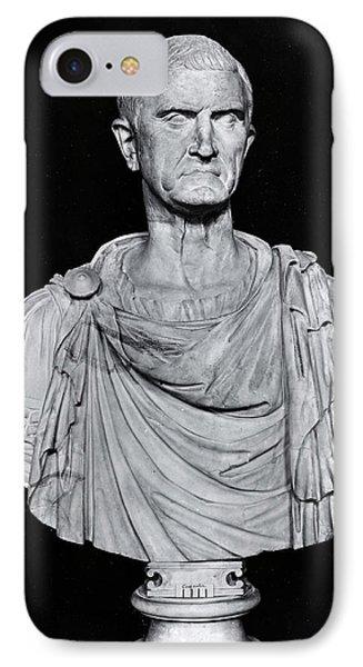 Bust Of Marcus Licinius Crassus IPhone Case by Roman