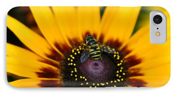 IPhone Case featuring the photograph Busy Bee by Denyse Duhaime