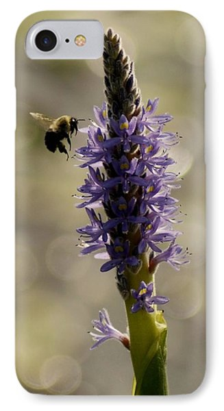 Busy Bee Phone Case by Donna Stiffler