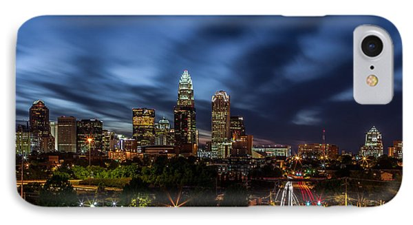 Busy Charlotte Night Phone Case by Chris Austin