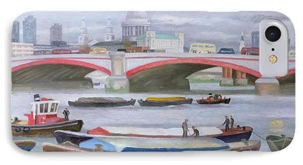 Busy Scene At Blackfriars IPhone Case by Terry Scales