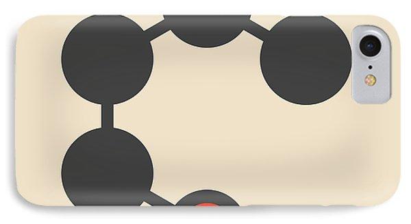 Butanol Molecule IPhone Case by Molekuul