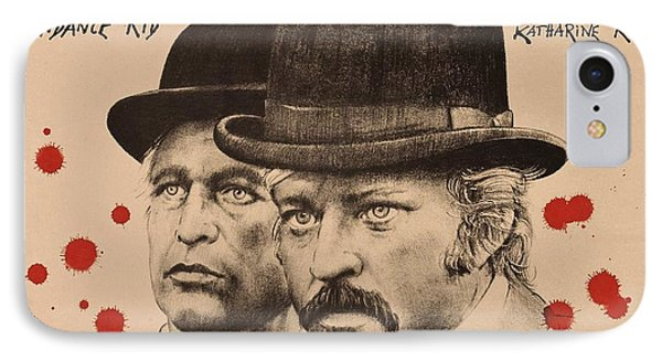 Butch Cassidy And The Sundance Kid IPhone Case by Movie Poster Prints