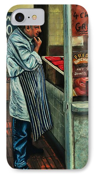 Butchers Profit Phone Case by Peter Jackson