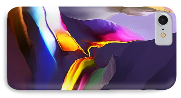 IPhone Case featuring the digital art Butte by David Lane