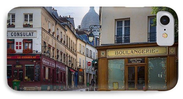 Butte De Montmartre IPhone Case by Inge Johnsson