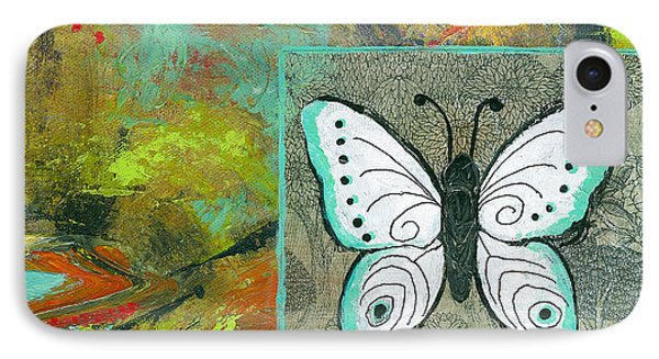 Butterflies Are Free IPhone Case by Blenda Studio