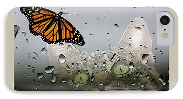 Butterflies Are Free IPhone Case by I'ina Van Lawick