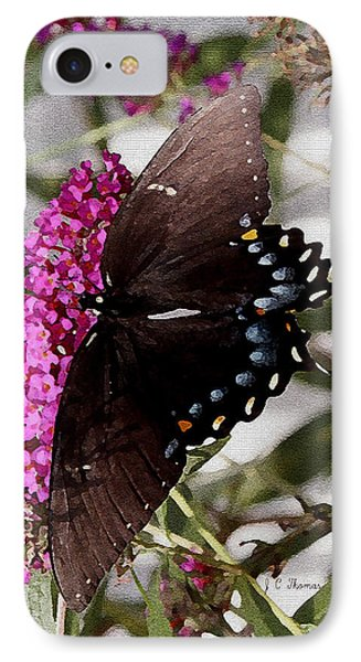 IPhone Case featuring the photograph Butterflies Are Free by James C Thomas