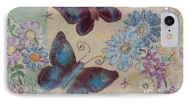Butterflies Phone Case by Hazel Millington