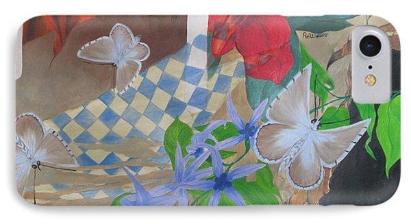 Butterflies In The Breeze Phone Case by Richard Dotson