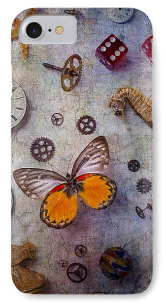 Butterfly And Seahorse IPhone Case