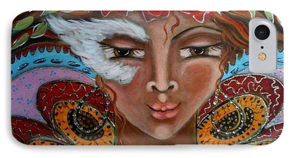 Butterfly Angel IPhone Case by Maya Telford
