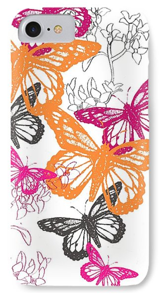 Butterfly IPhone Case by Anna Platts