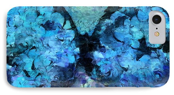 Butterfly Art - D11bl02t1c Phone Case by Variance Collections