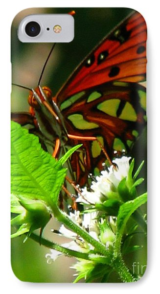 Butterfly Art Phone Case by Greg Patzer