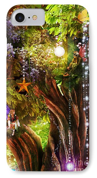 Butterfly Ball Tree IPhone Case