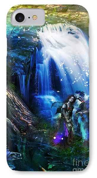 Butterfly Ball Waterfall IPhone Case
