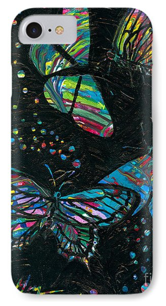 Butterfly Beauties IPhone Case by Denise Hoag