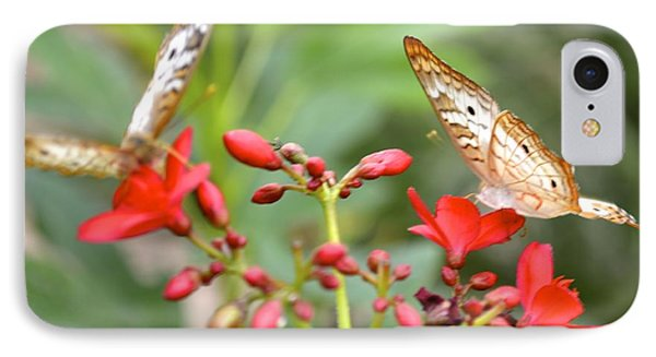 IPhone Case featuring the photograph Butterfly Besties by Carla Carson