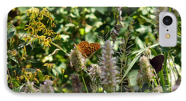 IPhone Case featuring the photograph Butterfly Buffet by Meghan at FireBonnet Art