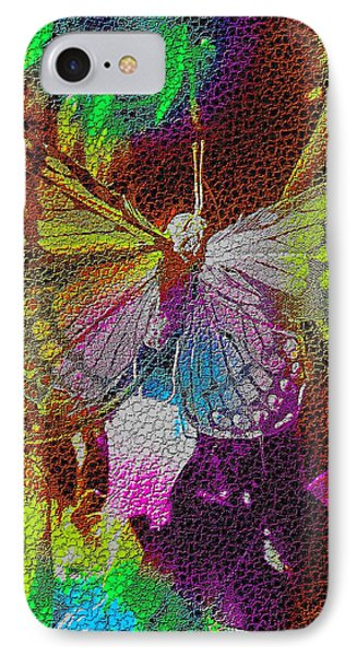 IPhone Case featuring the digital art Butterfly By Nico Bielow by Nico Bielow