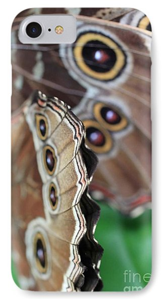 Butterfly Close Up  Phone Case by AR Annahita