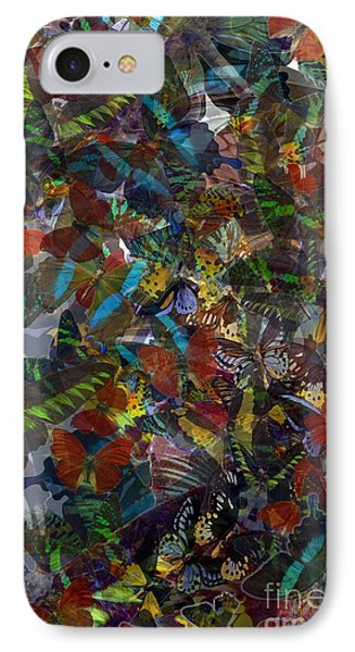 IPhone Case featuring the photograph Butterfly Collage by Robert Meanor