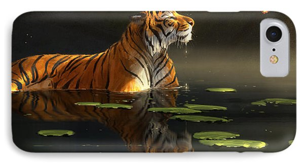 Butterfly Contemplation IPhone Case by Aaron Blaise