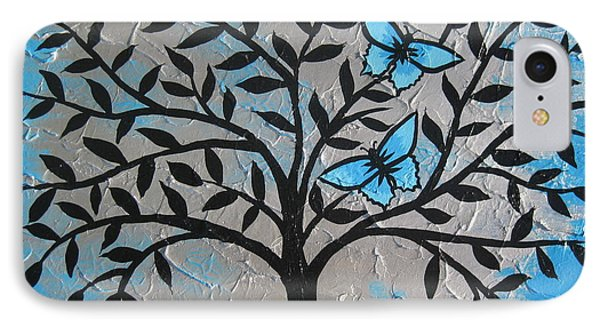 Butterfly Dreams 2 IPhone Case by Cathy Jacobs