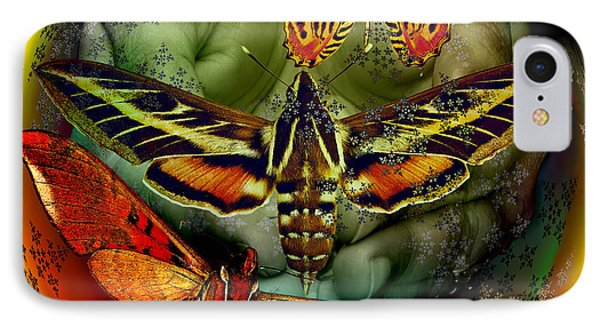 Butterfly Effect Blue Planet IPhone Case