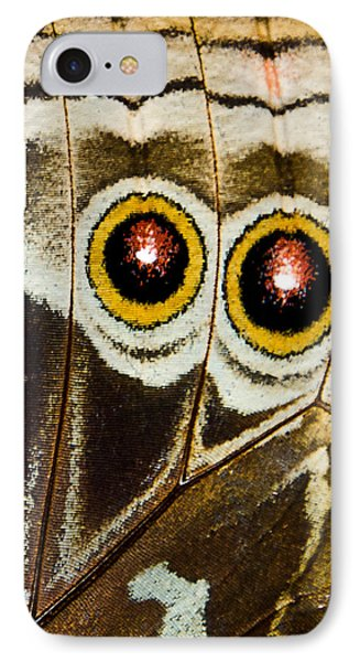 Butterfly Eyes IPhone Case