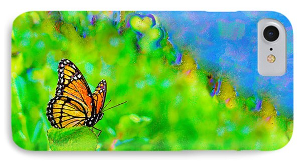 Butterfly Fantasy IPhone Case by Marianne Campolongo
