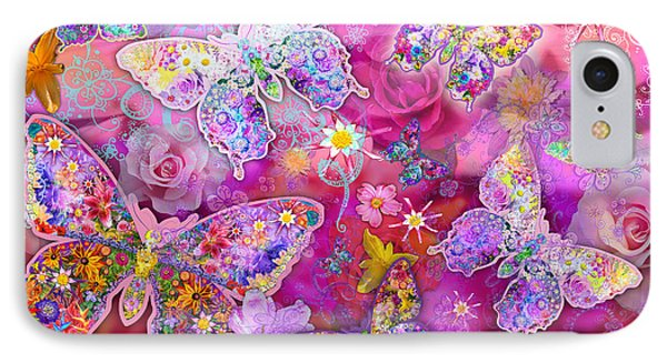 Butterfly Flower Land IPhone Case