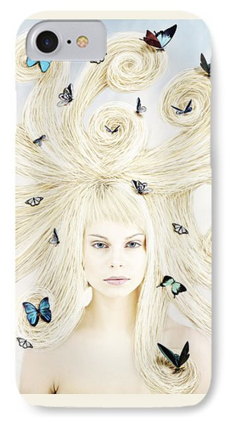 Butterfly Girl IPhone 7 Case